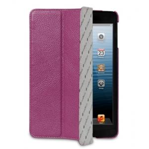 Кожаный чехол Melkco для Apple iPad Mini / Apple iPad Mini с дисплеем Retina - Slimme Cover Type - сиреневый
