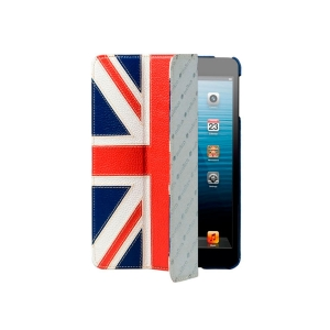 Кожаный чехол Melkco для Apple iPad Mini / Apple iPad Mini с дисплеем Retina - Slimme Cover Type - Флаг Великобритании