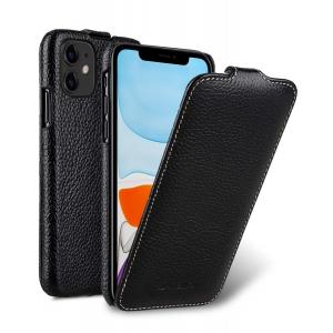 Кожаный чехол флип Melkco для Apple iPhone 11 - Jacka Type - черный