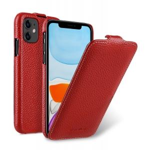 Кожаный чехол флип Melkco для Apple iPhone 11 - Jacka Type - красный