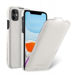 Кожаный чехол флип Melkco для Apple iPhone 11 - Jacka Type - белый