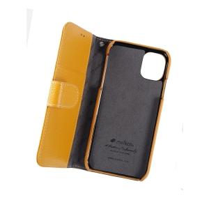 Кожаный чехол книжка Melkco для Apple iPhone 11 - Wallet Book Type - желтый