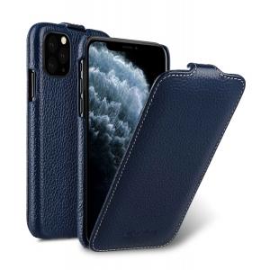 Кожаный чехол флип Melkco для Apple iPhone 11 Pro - Jacka Type - темно-синий