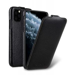 Кожаный чехол флип Melkco для Apple iPhone 11 Pro Max - Jacka Type - черный