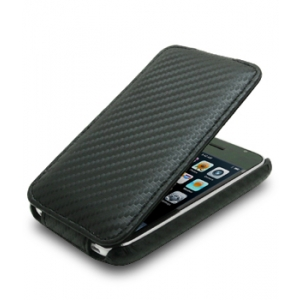 Чехол Melkco для Apple iPhone 3GS/3G - Jacka Type - черный карбон