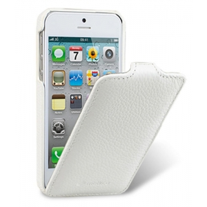 Кожаный чехол Melkco для Apple iPhone 5/5S / iPhone SE - Jacka Type - белый