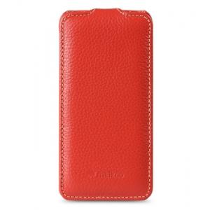 Кожаный чехол Melkco для Apple iPhone 5C - Jacka Type - красный