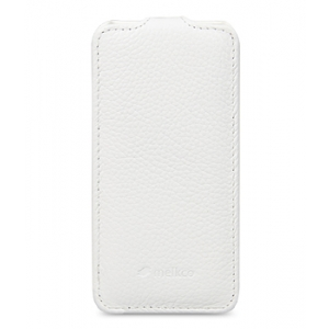 Кожаный чехол Melkco для Sony Xperia ZL - Jacka Type - белый
