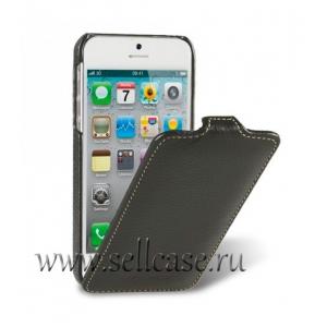 Кожаный чехол Melkco для Apple iPhone 5/5S / iPhone SE - Jacka Type - коричневый
