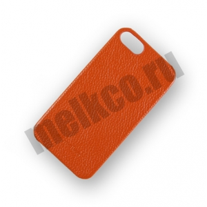 Кожаный чехол - задняя крышка Melkco для Apple iPhone 5/5S / iPhone SE - Snap Cover - оранжевый