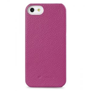 Кожаный чехол - задняя крышка Melkco для Apple iPhone 5/5S / iPhone SE - Snap Cover - сиреневый