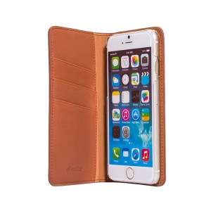 "Кожаный чехол книжка Melkco для Apple iPhone 6/6S (4.7"") - Herman Book Style Case, коричневый"