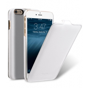 "Кожаный чехол Melkco для Apple iPhone 6/6S Plus (5.5"") - Jacka Type - белый"
