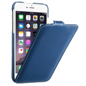 "Кожаный чехол Melkco для Apple iPhone 6/6S Plus (5.5"") - Jacka Type - темно-синий"
