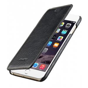 "Кожаный чехол Melkco для Apple iPhone 6/6S Plus (5.5"") - Face Cover Book Type - чёрный"