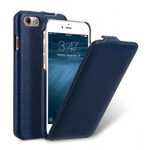 Кожаный чехол Melkco для Apple iPhone 8/7 - Jacka Type - тёмно-синий