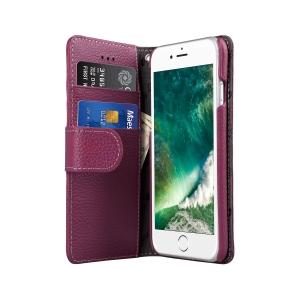 """Кожаный чехол книжка Melkco для iPhone 7/8 (4.7"""") - Wallet Book Type - сиреневый"""