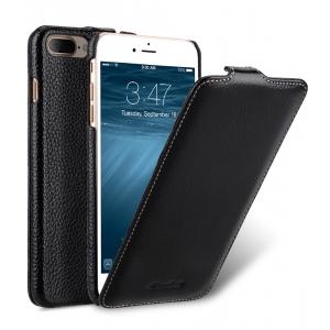 Кожаный чехол Melkco для Apple iPhone 8 Plus/7 Plus - Jacka Type - чёрный
