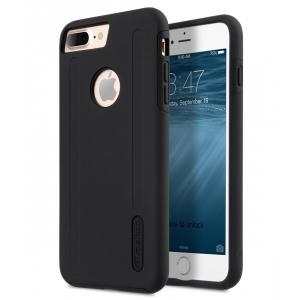 Двухслойный противоударный чехол Melkco Kubalt Double Layer Case Special Edition для Apple iPhone 8 Plus/7 Plus - чёрный