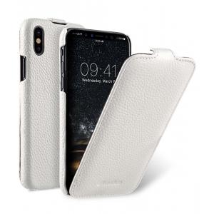 Кожаный чехол Melkco для Apple iPhone X/XS - Jacka Type - белый