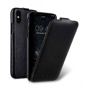 Кожаный чехол Melkco для Apple iPhone X/XS - Jacka Type - черный