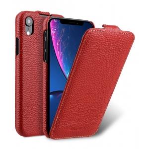 Кожаный чехол Melkco для Apple iPhone XR - Jacka Type - красный