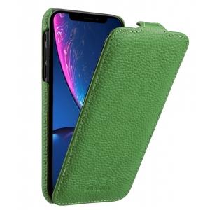 Кожаный чехол флип Melkco для Apple iPhone 11 Pro Max - Jacka Type - зеленый