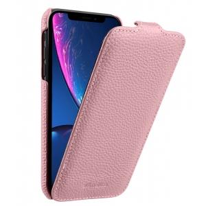 Кожаный чехол Melkco для Apple iPhone XR - Jacka Type - розовый