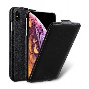 """Кожаный чехол Melkco для Apple iPhone Xs Max 6.5"""" - Jacka Type - черный"""