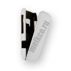 Кожаный чехол Melkco для Nokia N8 - Jacka Type - белый