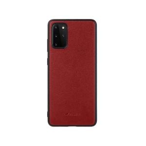 Кожаный чехол накладка Melkco Ingenuity Series для Samsung Galaxy S20+, красный