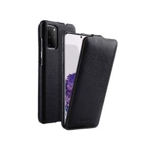 Кожаный чехол флип Melkco для Samsung Galaxy S20+ - Jacka Type - черный