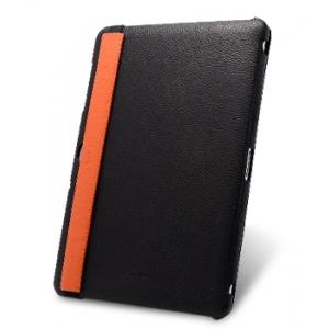 """Кожаный чехол Melkco Leather case for Samsung Galaxy Tab 10.1"""" P7500 / P7510 - Slimme Cover Type Ver.2 - черный"""