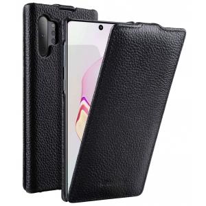 Кожаный чехол Melkco для Samsung Galaxy Note 10+ - Jacka Type - черный