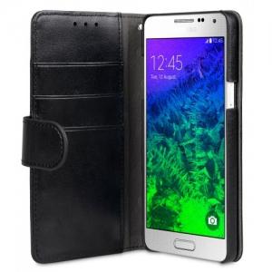 Чехол Melkco MINI PU для Samsung Galaxy A5 - Wallet Book Type - чёрный