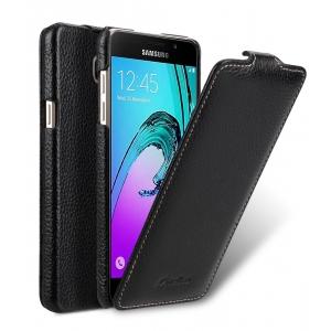 Кожаный чехол Melkco для Samsung Galaxy A5 (2017) - Jacka Type - чёрный