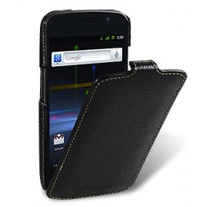 Кожаный чехол Melkco для Samsung Galaxy Nexus I9250 - Jacka Type - черный
