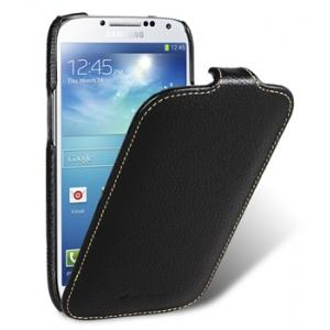 Кожаный чехол Melkco для Samsung Galaxy S4 GT-I9500 - Jacka Type - черный
