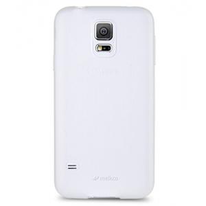 Силиконовый чехол Melkco Poly Jacket TPU Case для Samsung Galaxy S5 Mini - прозрачный матовый