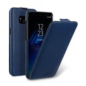 Кожаный чехол Melkco для Samsung Galaxy S8 - Jacka Type - темно-синий