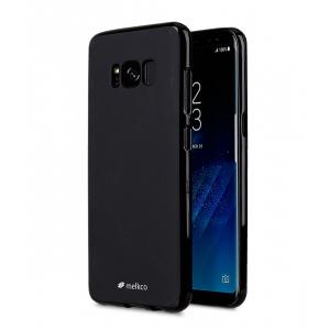 Силиконовый чехол Melkco Poly Jacket TPU case для Samsung Galaxy S8 - черный матовый