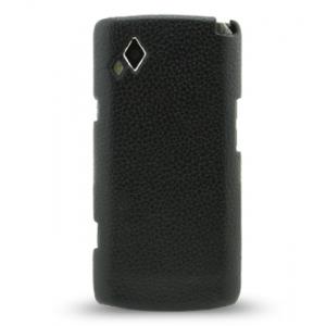 Кожаный чехол Melkco Leather Snap Cover для Samsung Wave S 8500 - черный