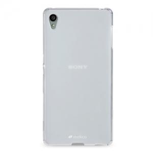 Силиконовый чехол Melkco Poly Jacket TPU case для Sony Xperia Z3 Plus (Xperia Z3 +) / Xperia Z4 / e6533 - прозрачный матовый