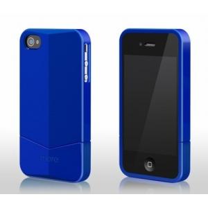 Пластиковый чехол More Racer GT Collection для Apple iPhone 4/4S - синий