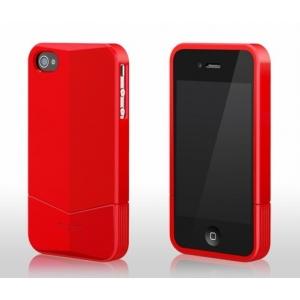 Пластиковый чехол More Racer GT Collection для Apple iPhone 4/4S - красный