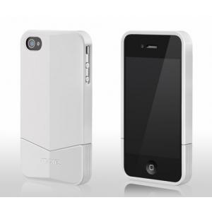 Пластиковый чехол More Racer GT Collection для Apple iPhone 4/4S - белый