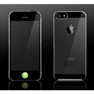 Пластиковый чехол More Granite Ultra Slim для Apple iPhone 5/5S / iPhone SE - прозрачный