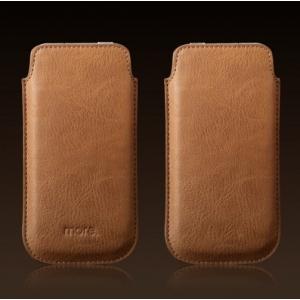 Чехол сумка вертикальный More Letique Collection для Apple iPhone 5/5S / iPhone SE - коричневый
