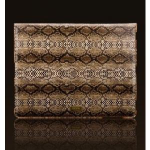 Чехол More Safara Classic Lx Collection для iPad 2 / iPad 3 / iPad 4 - кожа Питона - коричневый