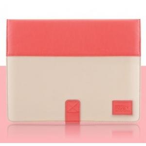 Чехол More Pastel Collection для Apple iPad 3 / iPad 4 / iPad 2 - Orange Pink/Light Beige